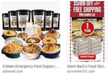 Glenn beck food buckets - glenn beck emergency