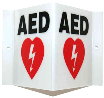 wilderness classes aed sign