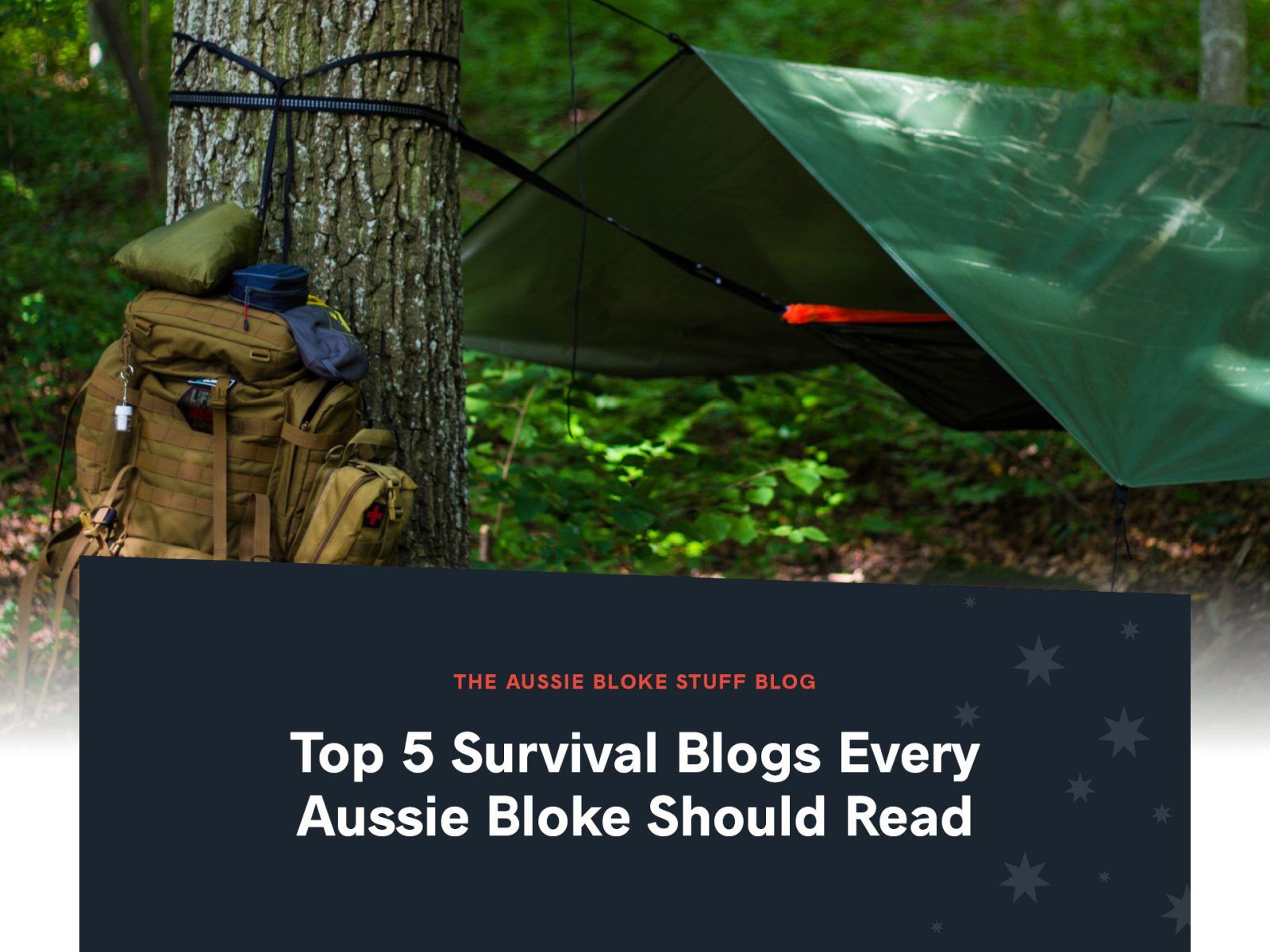 Top 5 Survival Blogs Every Aussie Bloke Should Read - (AussieBlokeStuff)