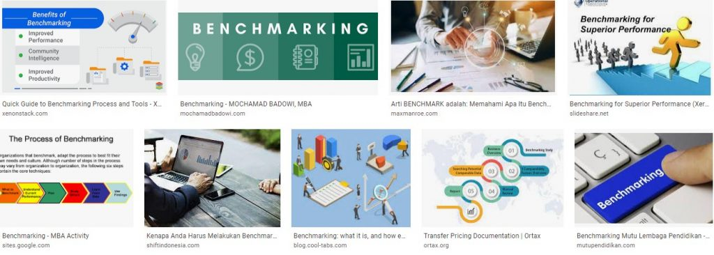 Benchmarking Meaning Definition Process Examples and Analysis