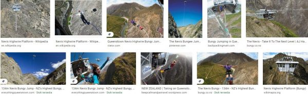 Bounce from Nevis Highwire Platform in New Zealand