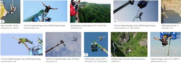 Bungee jumping uk highest