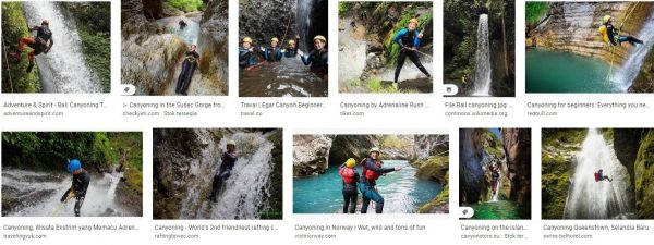 Canyoning blue mountains,canyoning queenstown,canyoning near
