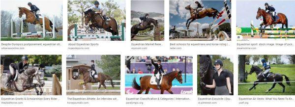 Equestrianism 5 6 crossword clue-form of equestrianism spanish riding school