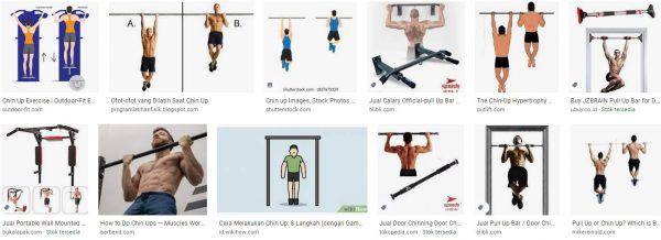 Keep your chin up- door chin up bar-how to do a chin up-difference between pull up and chin up