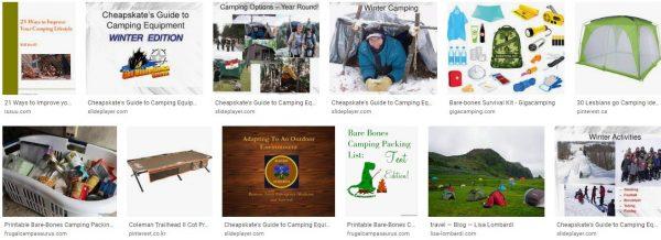 A Cheapskate's Guide To Bare-Bones Camping